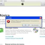 (Facilware) Error 21 iTunes